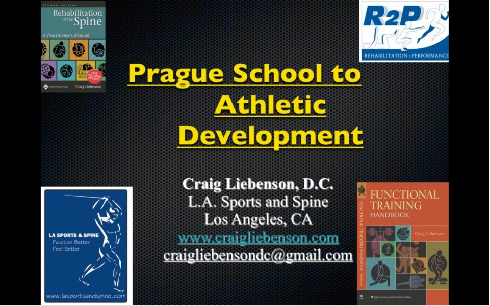Prague School to Athletic Development